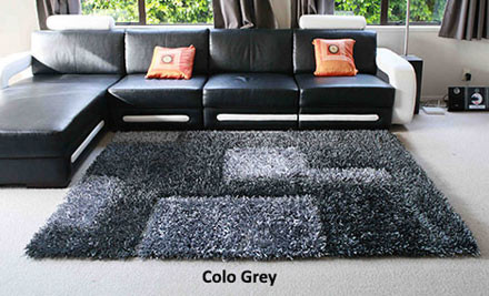 $189 for a 2.3m x 1.6m High Density Thick Pile Rug