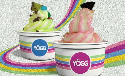 $3 for $6 Worth of Yogg Self-Serve Frozen Yoghurt & Toppings (value $6)