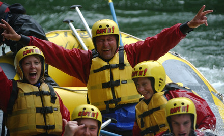 $62 for White Water Rafting on Kaituna River & Photo CD Pack (value $124)