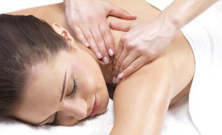 $59 for an Anti-Stress Back Massage & Facial