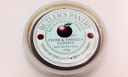 From $7 for 100g of Butler's Pantry Confit for Cheese - Choose from Four Flavours incl. Delivery (value up to $20)