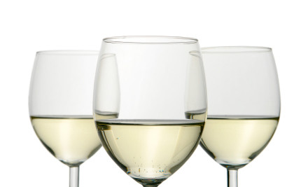 $17 for a Large Pizza & Two Glasses of Bouldevines Marlborough Sauvignon Blanc