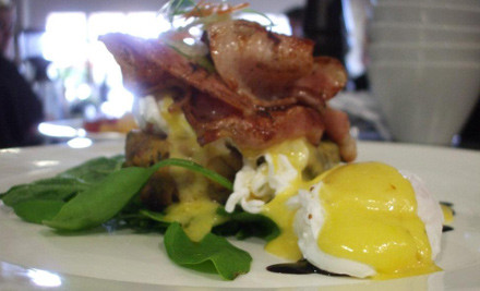 $18 for Two Breakfast/Brunch Mains off the All Day Breakfast Menu (value up to $37)