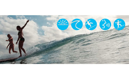 $29 for a Two-Hour Surf Lesson for One Person or $45 for Two People (value up to $160)