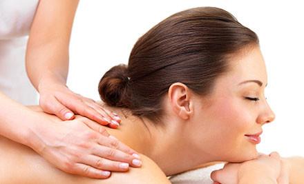 $29 for a 40-Minute Back, Neck & Shoulder Massage or 40-Minute Reflexology Treatment (value up to $65)
