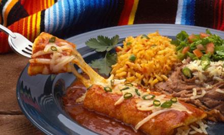 $39 for Two Chicken Fajita Mains & Two El Choco Desserts (value $68)