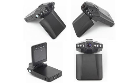 "$65 for a Mini HD Dash Cam with 2.5"" Screen & DVR"