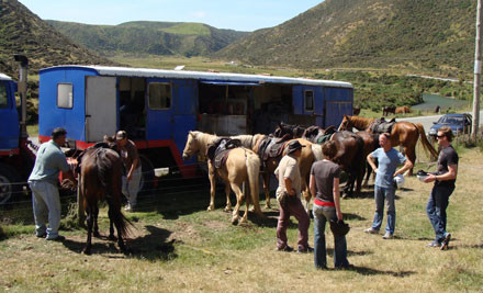 $30 for a One-Hour Guided Horse Trek for an Adult or Child (value $50)