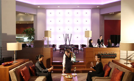 $45 for High Tea for Two or $59 for High Tea for Two incl. Two Glasses of Bubbles at Knights Lobby Bar