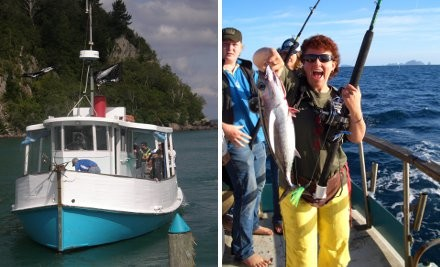 50% off One-Day Fishing Charter Two Locations - Whangamata or Tauranga (value up to $100)