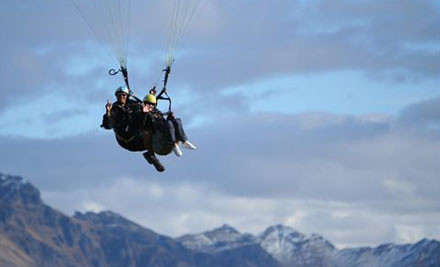 $94 for a Tandem Paragliding Experience (value $160)