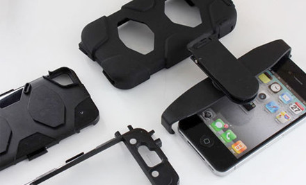 $15 for a Shock Proof Defender Case incl. Screen Protector for iPhone 4/4s
