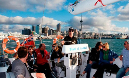 $42 for a Pride of Auckland Waiheke Sailing Experience (value $85)