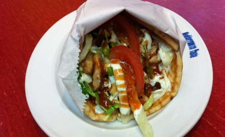 $8.50 for One Mixed Souvlaki, Salad or Pasta, One Drink & Turkish Delight (value up to $15)
