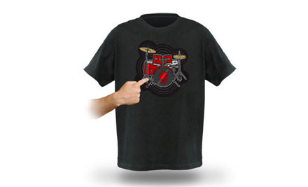 $35 for a Playable Musical T Shirt for Kids or Adults