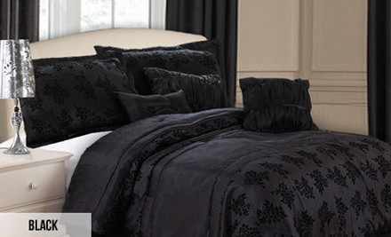 From $120 for a Seven-Piece Comforter Set in One of Five Styles