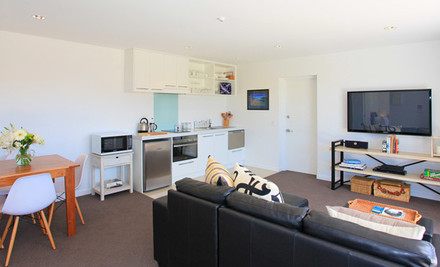 $459 for Two Nights for Two in a Luxury One-Bedroom Apartment, incl. Food & Wine Hamper & Use of a Car (value $920)