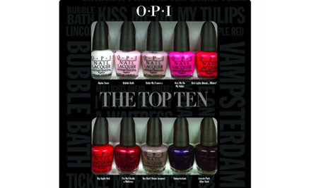 $48 for an OPI Top Ten Mini Pack