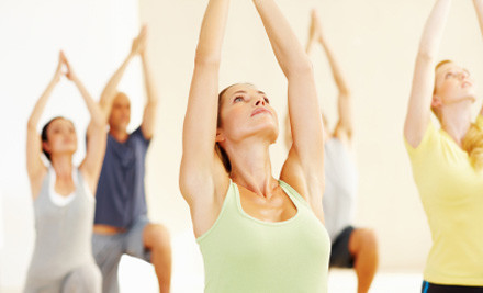 $19 for Five Yoga Classes or $29 for One Month of Unlimited Classes (value up to $160)
