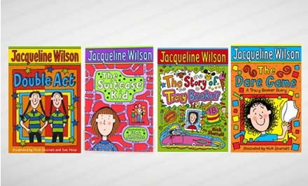 $59 for Jacqueline Wilson Box Set of 10 Books (value $199)