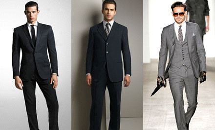 $399 for a Personalised Tailored Suit incl. Bonus Tie & Cufflink Set (value $1,289)