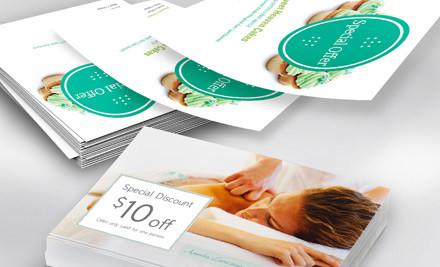 Professional business flyers grabone for Vistaprint flyer