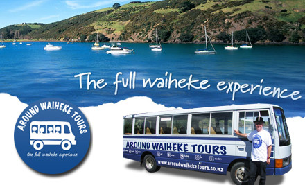 $49 for a Five-Hour Waiheke Wine & Beer Tasting Tour (value $99)