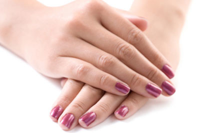 $15 for a Shellac Nail Package incl. Shape, Buff & Polish of Your Choice (value $30)