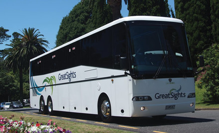 $29 for an Auckland CitySights Morning or Afternoon Half-Day Tour with GreatSights (value $74)