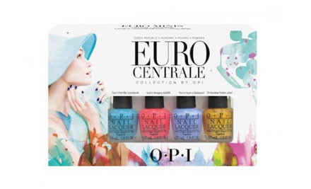 $24 for an O.P.I Mini Nail Polish Four Pack, or $120 for Five Four Packs