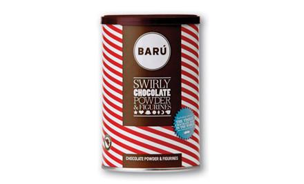 $16 for 250g of Belgian Baru Chocolate Drinking Powder incl. Nationwide Delivery