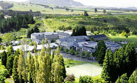 $290 for Two Nights for Two People incl. Full Cooked Breakfasts & a Two-Course Dinner One Evening at Wairakei Resort Taupo (value $581)