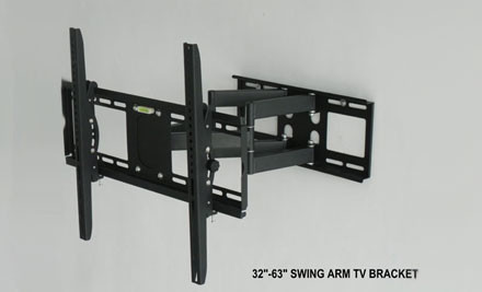 From $45 for an Adjustable TV Wall Mount incl. Nationwide Delivery