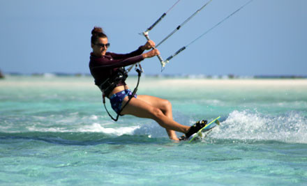 $99 for a Two-Hour Kiteboarding Lesson (value up to $200)