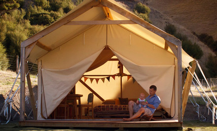 $360 for Two Nights, or $495 for Three Nights of 'Glamping' at Kawakawa Station in the Wairarapa for up to Four People (value up to $900)