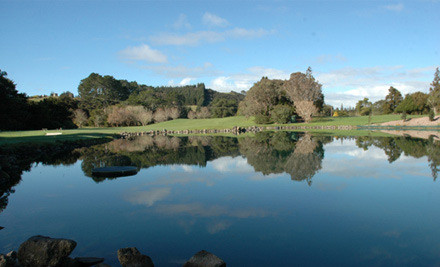 $19 for One Person, $36 for Two People or $69 for Four People for a Round of Golf (value up to $160)