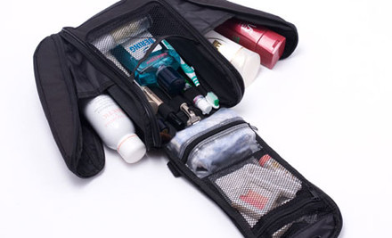 $30 for a Black Toiletry & Make Up Bag incl. Nationwide Delivery