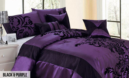 From $120 for a Seven-Piece Comforter Set in One of Seven Styles