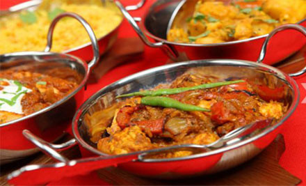$39 for an Indian Meal for Two incl.Two House Beers or Wines (value $80)