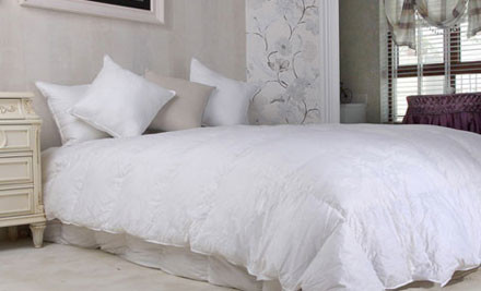 From $30 for a Summer Weight Goose Down & Feather Duvet Inner incl. Delivery