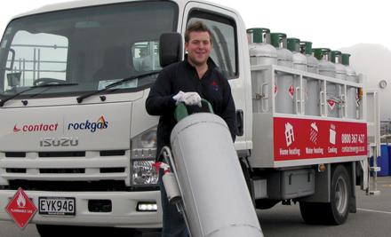 $147 for two full 45kg LPG cylinders delivered incl. 12 months cylinder rental (value $347)