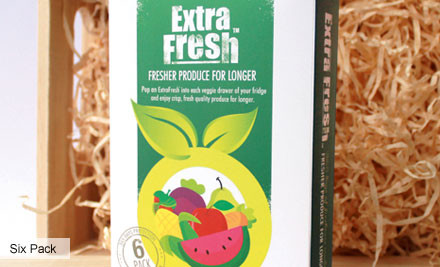 From $12 for ExtraFresh Fruit & Vegetable Saver Packs incl. Nationwide Delivery