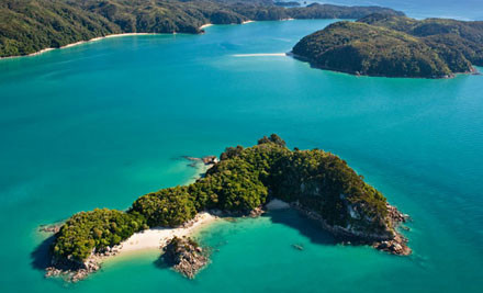 $23 for an Abel Tasman National Park Cruise for One Adult & One Complimentary Child (Value $45)