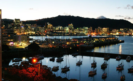 $125 for One Night for Two People, Full Breakfast, Two Drinks & Late Checkout or $150 for a Harbour View Room at the Copthorne Hotel, Oriental Parade Wellington (value up to $308)