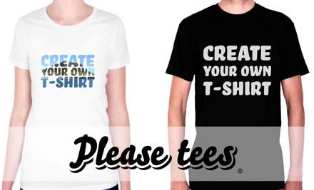 $19 for a Custom Designed T-Shirt (value $49.90)