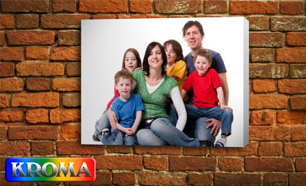 $29 for One Personalised A3 Photo Canvas, $55 for Two, or $80 for Three incl. Nationwide Delivery (value up to $267)