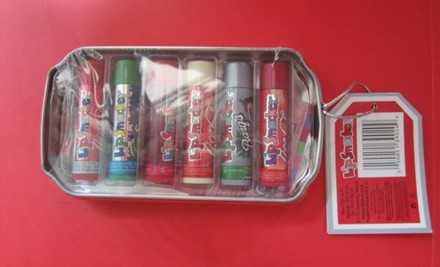 $19 for a Set of Six Lip Smacker Lip Balms in a Coca Cola Tin incl. Nationwide Delivery