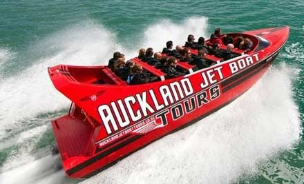 $39 for a 35-Minute Jet Boat Ride (value $85)