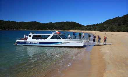 Return Ferry Passes from Nelson to Kaiteriteri - $49 for Two Adults or $79 for a Family (value up to $120)