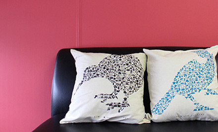 From $18 for x 2 Kiwiana Pictograph Cushion Covers
